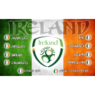 Ireland National Team Custom Vinyl Banner