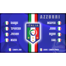 Italy National Team Custom Vinyl Banner