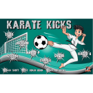 Karate Kicks Custom Vinyl Banner