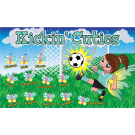 Kicking Cuties Custom Vinyl Banner