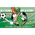 Kicking Dragons Custom Vinyl Banner