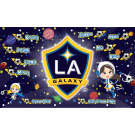 LA Galaxy (Girls) Custom Vinyl Banner