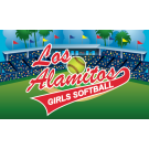Los Alamitos Girls Softball Custom Vinyl Banner