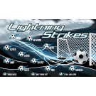 Lightning Strikes Custom Vinyl Banner