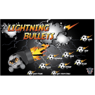 Lightning Bullets Custom Vinyl Banner