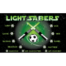 Light Sabers Custom Vinyl Banner