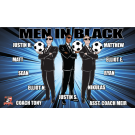Men in Black Custom Vinyl Banner