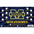 Michigan State Wolverines Custom Vinyl Banner