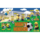 Mighty Minions (Orange) Custom Vinyl Banner