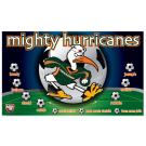 Mighty Hurricanes Custom Vinyl Banner