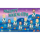 Mighty Mermaids (Buff) Custom Vinyl Banner