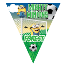 Mighty Minions Triangle Individual Team Pennant