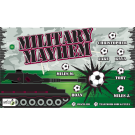 Military Mayhem Custom Vinyl Banner