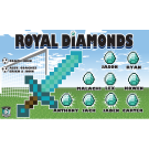 Royal Diamonds Custom Vinyl Banner