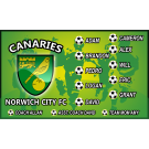 Norwich City FC 1 Custom Vinyl Banner
