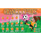 Orange Cuties Custom Vinyl Banner
