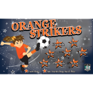 Orange Strikers Custom Vinyl Banner