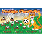 Orange Cheetahs Custom Vinyl Banner