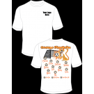 Orange Cheetahs Team Practice Shirt