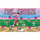 Pink Panthers Custom Vinyl Banner