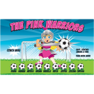 The Pink Warriors 2 Custom Vinyl Banner