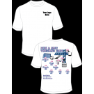 PInk and Blue Wrecking Crew Practice T-Shirt