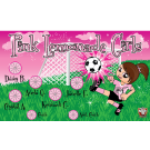 Pink Lemonade Girls Custom Vinyl Banner