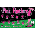 Pink Panthers 2 Custom Vinyl Banner