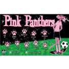 Pink Panthers 1 Custom Vinyl Banner
