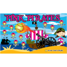 Pink Pirates Custom Vinyl Banner