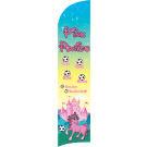 Pink Ponies Custom Double-Sided Team Wind Flag