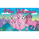 Pink Unicorns 2 Custom Vinyl Banner