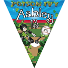 Poison Ivy Triangle Individual Team Pennant