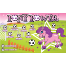 Pony Power Custom Vinyl Banner