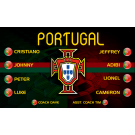 Portugal National Team Custom Vinyl Banner