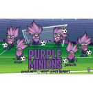 Purple Minions Custom Vinyl Banner