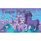 Purple Ponies Custom Vinyl Banner