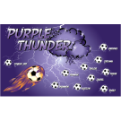 Purple Thunder Custom Vinyl Banner
