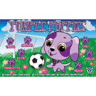 Purple Puppies Custom Vinyl Banner