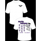 Purple Dolphins Practice T-Shirt