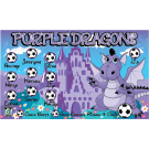 Purple Dragons 1 Custom Vinyl Banner