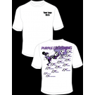Purple Lightning (Girls) Practice T-Shirt