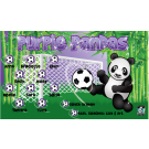 Purple Pandas Custom Vinyl Banner