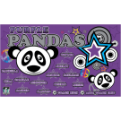 Purple Panda (Trendy) Custom Vinyl Banner