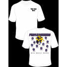 Purple Panthers (Kicking) Practice T-Shirt