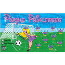Purple Princesses Custom Vinyl Banner