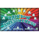 Rainbow Awesomeness Custom Vinyl Banner