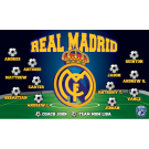 Real Madrid Custom Vinyl Banner