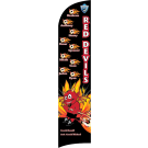 Red Devils Custom Double-Sided Team Wind Flag