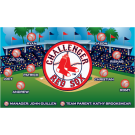 Red Sox (Challenger) Custom Vinyl Banner